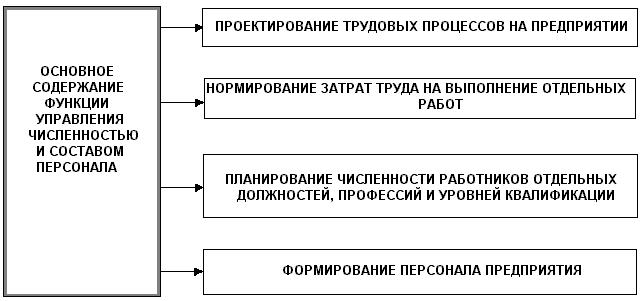 Разработка мероприятий по управлению персоналом на предприятии торговли